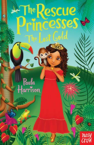 Rescue Princesses: The Lost Gold by Paula Harrison