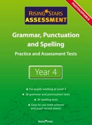 Rising Stars Assessment, Spelling, Grammar, Punctuation and Vocabulary By Various