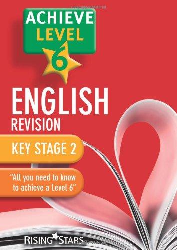 Achieve Level 6 English Revision Pupil Book [Single Copy]