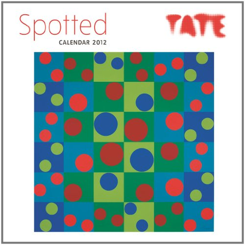 Calendar 2012 TATE Spotted (Flame Tree Art Calendars) Wall 30 x 30 cm (12 x 12 in) By Flame Tree Publishing