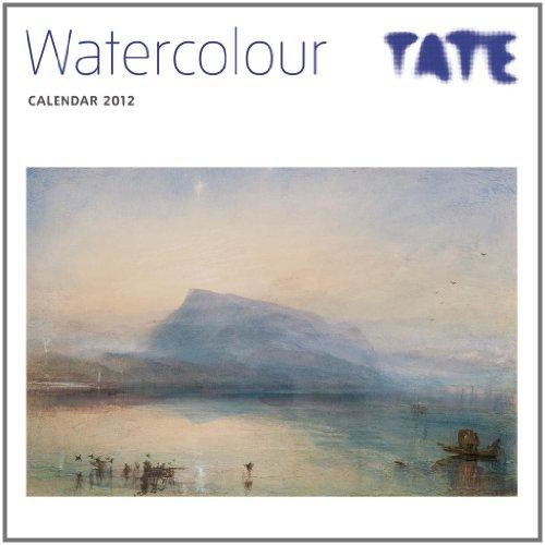 Calendar 2012 TATE Watercolours (Flame Tree Art Calendars) Wall 30 x 30 cm (12 x 12 in) By Flame Tree Publishing