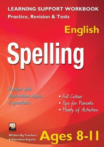Spelling, Ages 8-11 (English) By Tree Flame