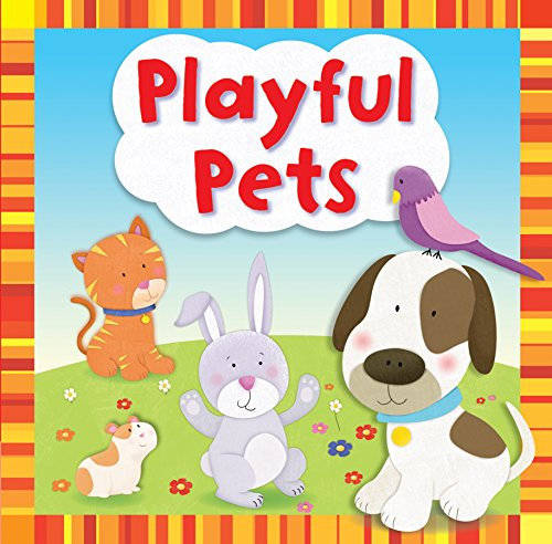 Glove Puppet Book: Playful Pets (First Touch and Feel JCB) By Igloo