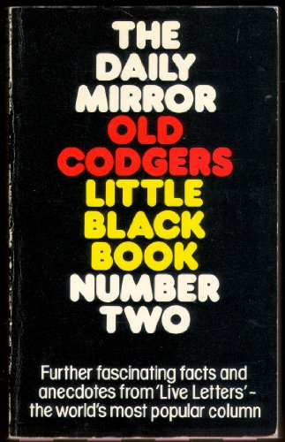 """""""Daily Mirror"""" Old Codgers' Little Black Book By Old Codgers"""