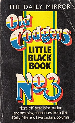 """""""Daily Mirror"""" Old Codgers' Little Black Book"""