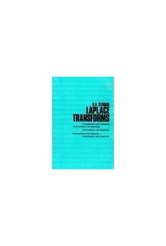 Laplace Transforms By K. A. Stroud