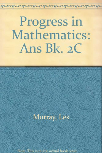 Progress in Mathematics By Les Murray