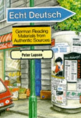 Echt Deutsch By J.P. Lupson