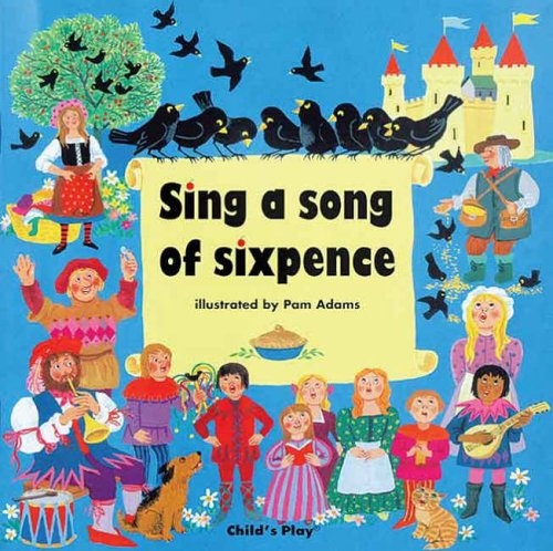 Sing a Song of Sixpence (Classic Books with Holes) by M. Twinn