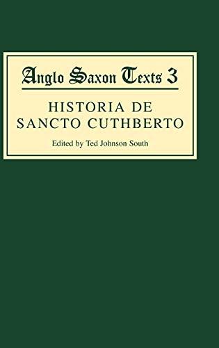 <I>Historia de Sancto Cuthberto</I> By Ted Johnson South