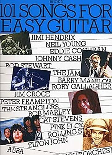 101 Songs For Easy Guitar Book 2 By Sales Music