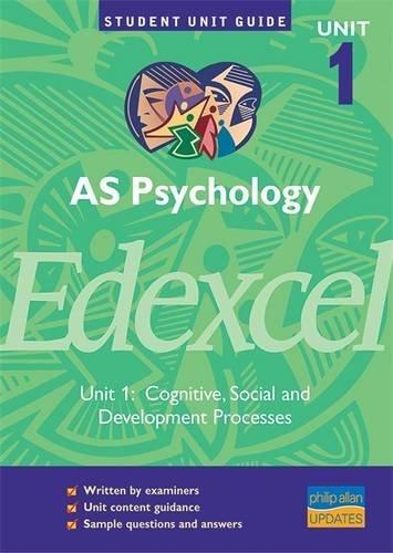 AS Psychology Edexcel By Brian Christine