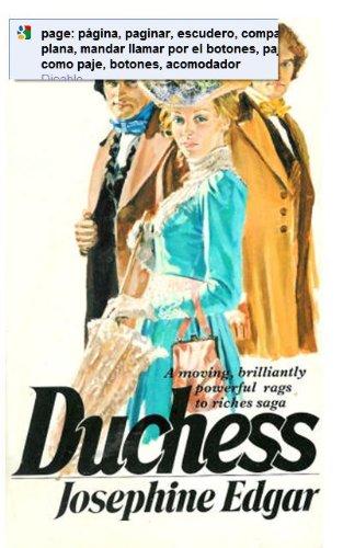 Duchess By Josephine Edgar