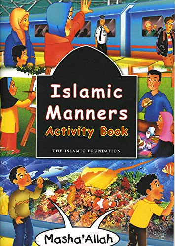 Islamic Manners Activity Book By Fatima Oyen