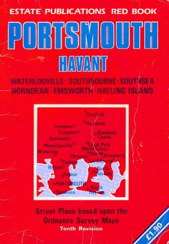Portsmouth and Havant Street Atlas By Red Books