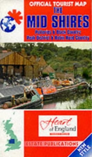 Official Tourist Maps - England: the Mid Shires (Staffordshire, Shropshire Etc)