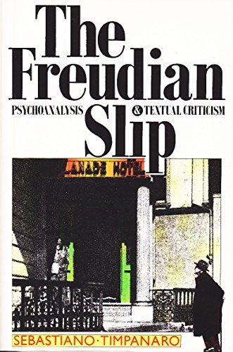 Freudian Slip By Sebastiano Timpanaro