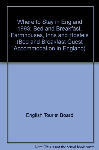 Where to Stay in England By English Tourist Board