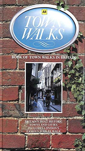 Book of Town Walks By Automobile Association