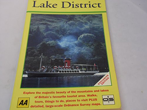 Guide to the Lake District By Automobile AssociationOrdnance Survey