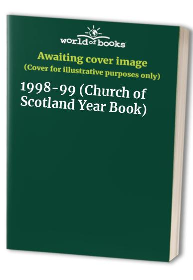 Church of Scotland Year Book By A.Gordon McGillivray