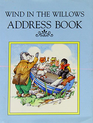 Wind in the Willows Address Book