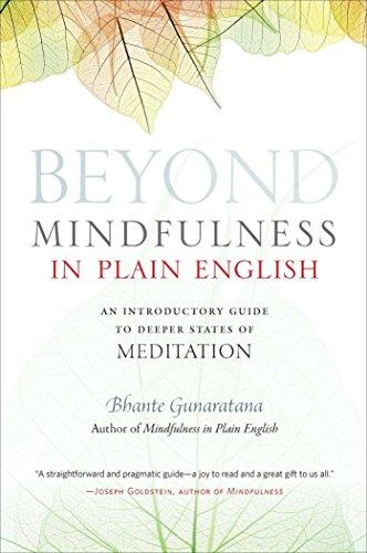 Beyond Mindfulness in Plain English By Bhikkhu Henepola Gunaratana