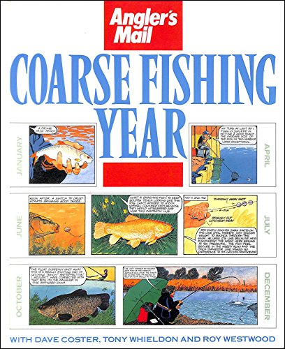 Angler's Mail Coarse Fishing Year by Dave Coster Hardback Book The Cheap Fast