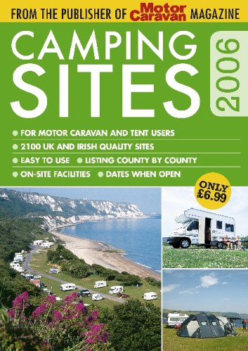 Camping Sites Guide 2006 (Ipc Media) by White, Roger Paperback Book The Cheap