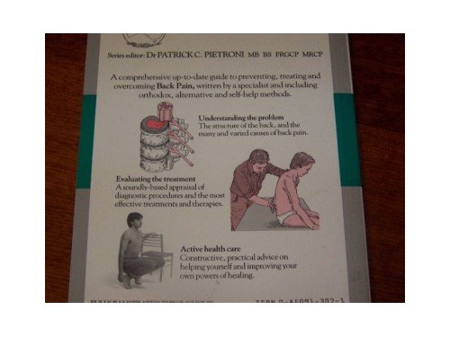 Beating Back Pain By John Tanner
