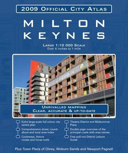 Milton Keynes City Atlas By GEOprojects (UK) Ltd