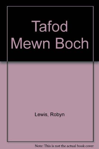 Tafod Mewn Boch By Robyn Lewis