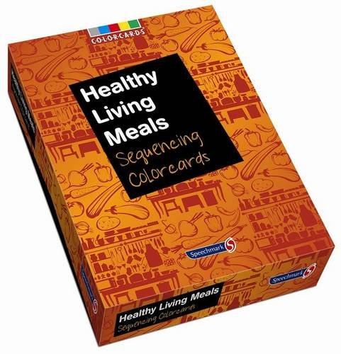 Healthy Living Meals: Colorcards By Speechmark