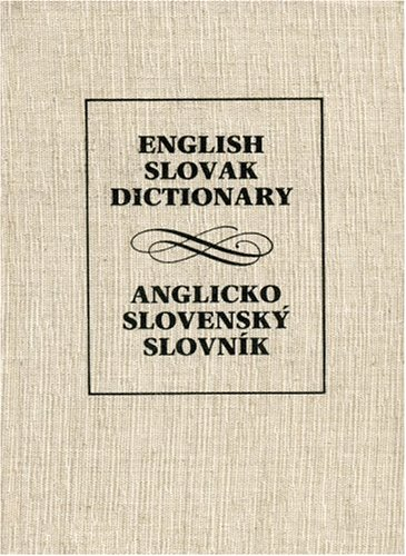 English - Slovak Dictionary By Jan Simko