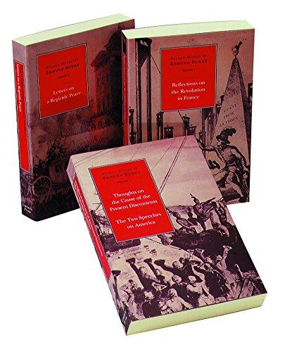 Select Works of Edmund Burke -- 3-Volume Set By Edmund Burke