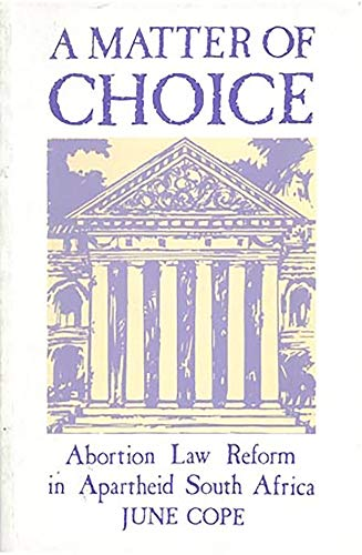 A Matter of Choice By June Cope