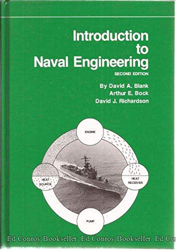 Introduction to Naval Engineering by David A. Blank