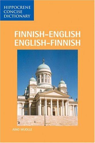 Finnish-English / English-Finnish Concise Dictionary By Aino Wuolle