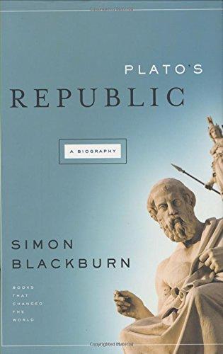 Plato's Republic By Professor of Philosophy Simon Blackburn