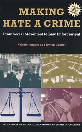 Making Hate a Crime: From Social Movement to Law Enforcement by Valerie Jenness