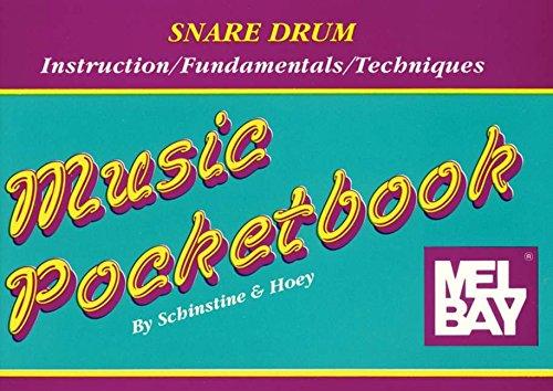 Snare Drum Pocketbook By William Schinstine