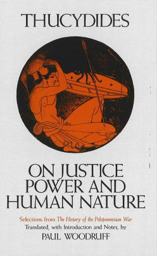 On Justice, Power, and Human Nature par Thucydides