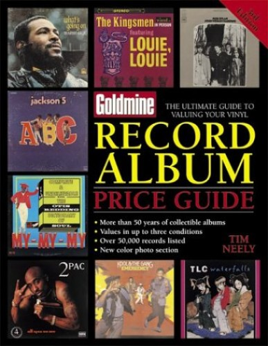 """""""Goldmine"""" Record Album Price Guide by Tim Neely"""