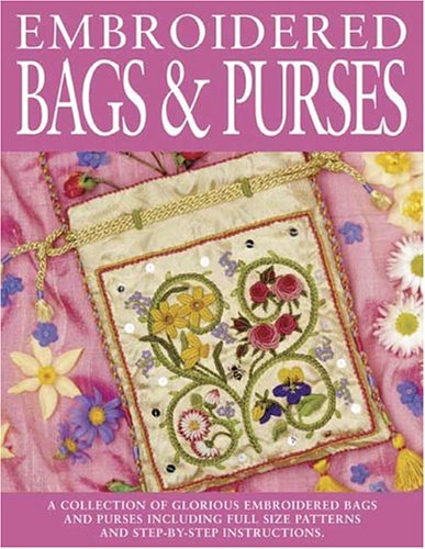 Embroidered Bags and Purses By Sally Milner