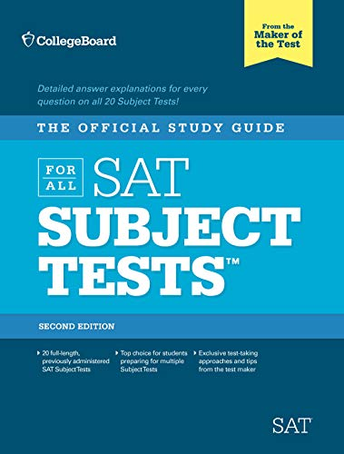 Official Study Guide for All SAT Subject Tests By College Board
