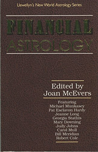 Financial Astrology for the 1990's By Joan McEvers