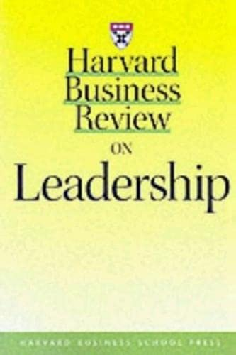 """Harvard Business Review"" on Leadership By Harvard Business Review"