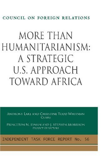 More Than Humanitarianism By Anthony Lake