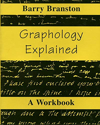 Graphology Explained By Barry Branston