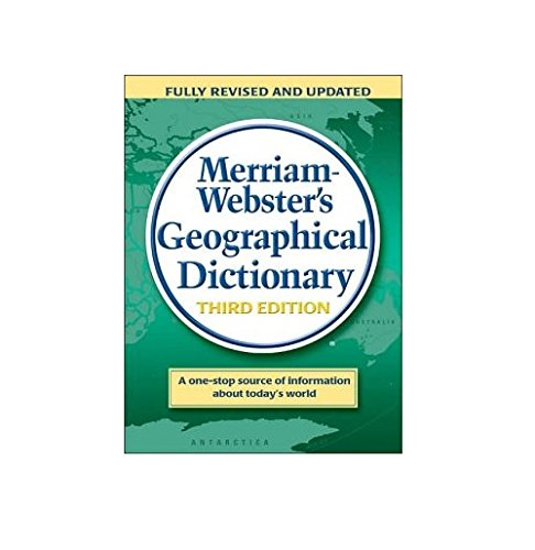 Merriam Webster's Geographical Dictionary By MERRIAM-WEBSTER